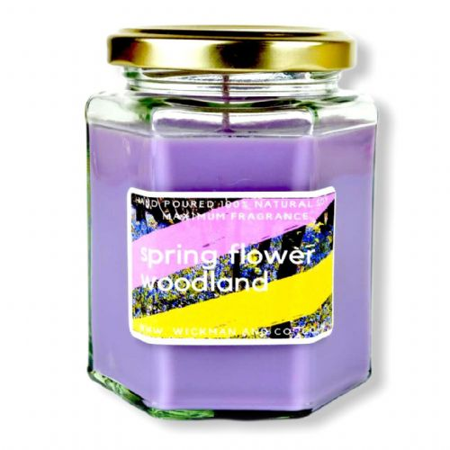 Spring Flower Woodland Soy Wax Candle